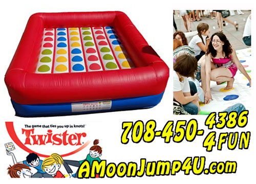 Any  party is MORE fun with an inflatable bouncing activity! Call today and hear our selections!